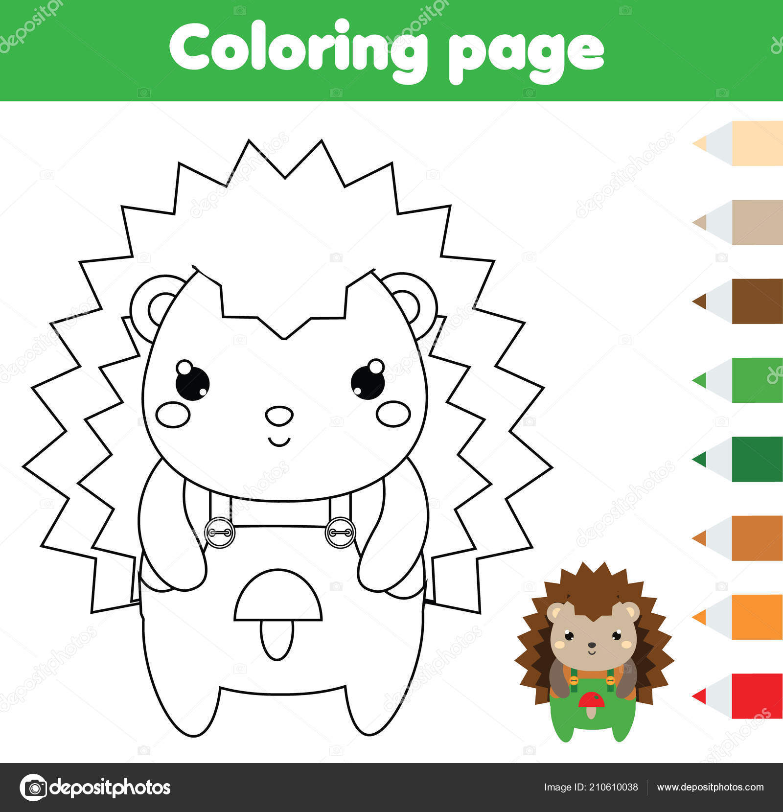 picture relating to Printable Activities for Toddlers identified as Shots: printable hedgehog Coloring Web page Hedgehog