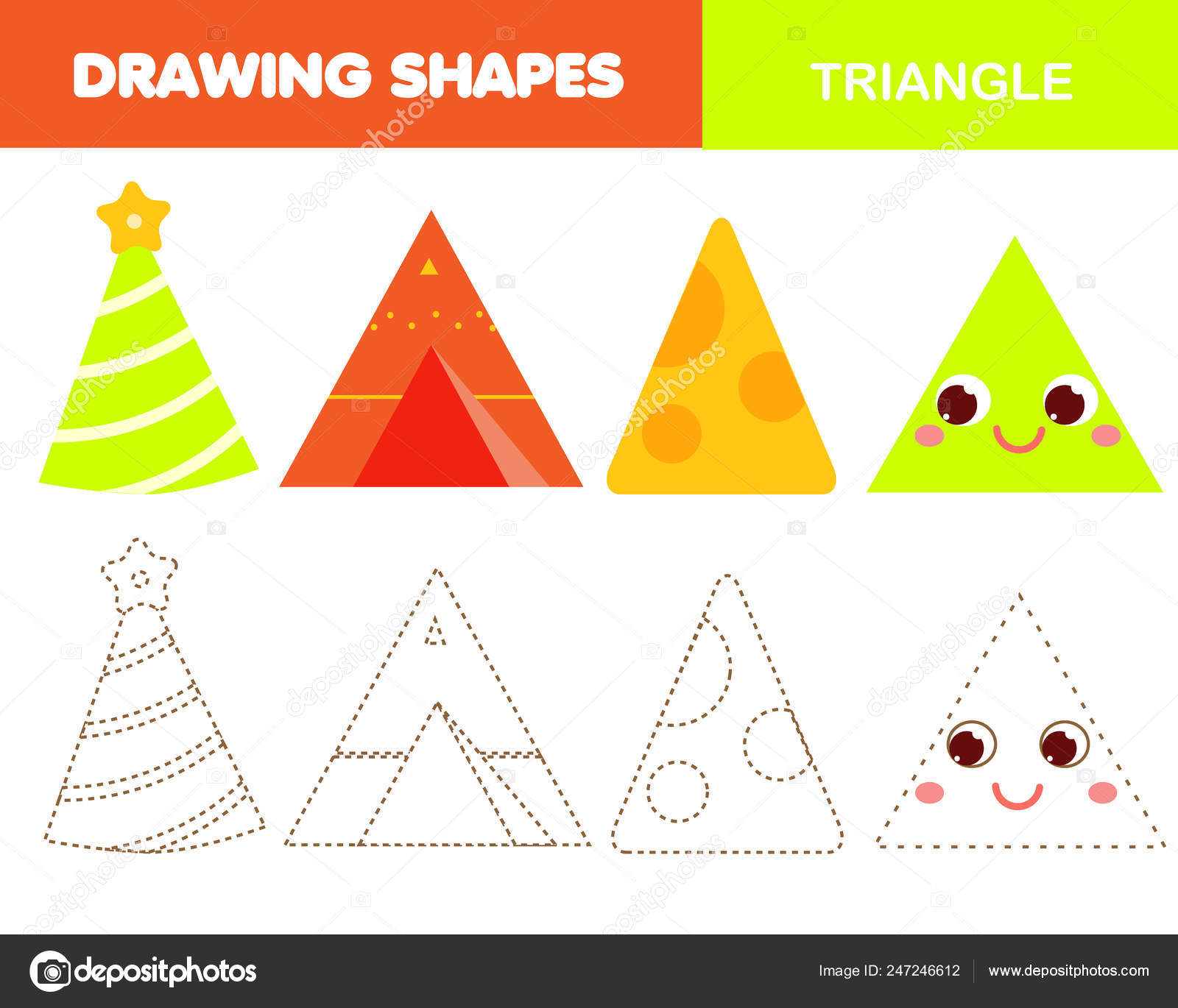 Images: shapes for toddlers | Learning Geometric Shapes Kids