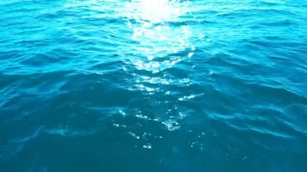 Schleife Ruhige Meereswellen oder Seewasseroberfläche