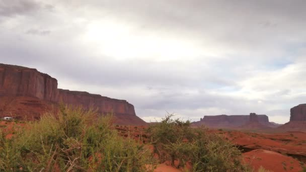 Monument Valley Dolly Shot Time Lapse Clouds in Arizona and Utah Southwest USA