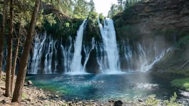 Burney Falls HDR Time Lapse Waterfalls Shasta California