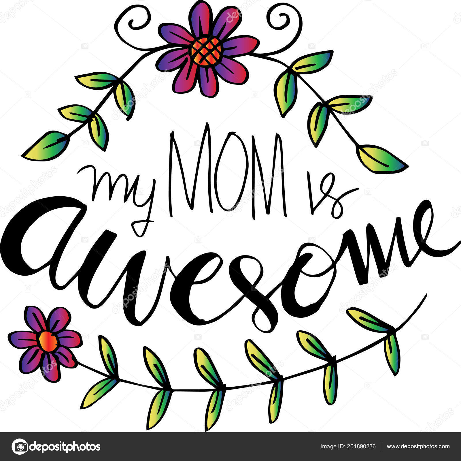 mom awesome lettering happy mothers day greeting card fotografias Happy Feast Day Greetings mom awesome lettering happy mothers day greeting card fotografia de stock