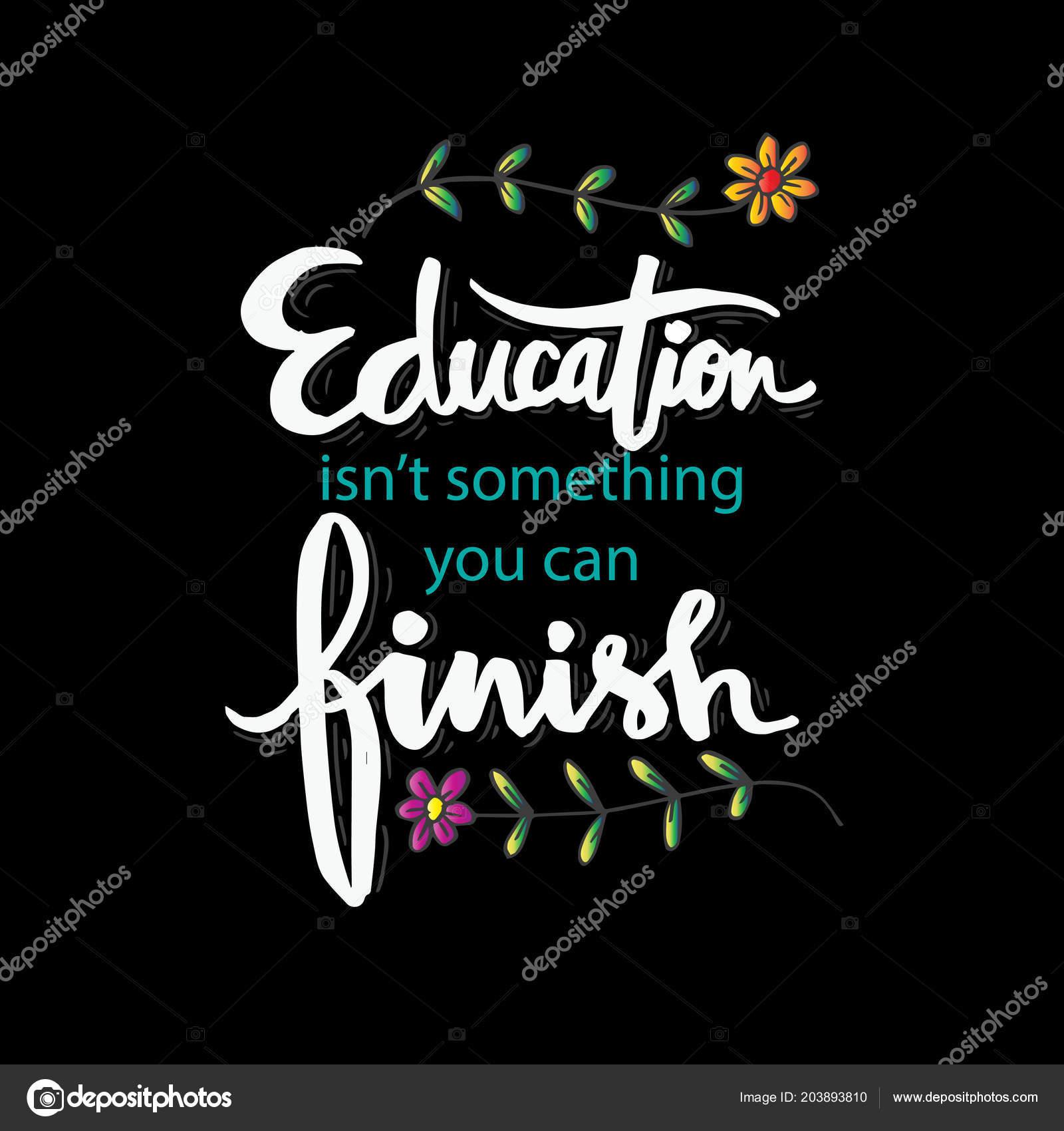 Educación Algo Que Puede Acabar Frase Motivacional Isaac