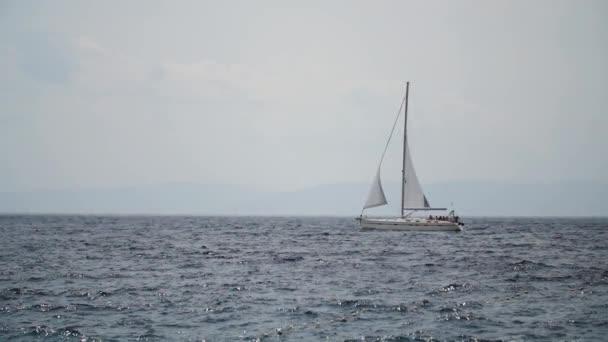 plachetnice na moři Chorvatsko