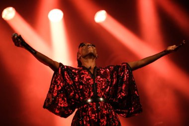 Zurich, Switzerland, May 11, 2018: Skye Edwards, the singer of Morcheeba, during the show on may 11, 2018 in Zurich. (photo by Michele Morrone).