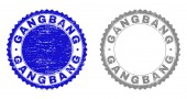 Fotografie Grunge Gangbang texturiert Briefmarken
