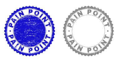 Grunge PAIN POINT Textured Stamps