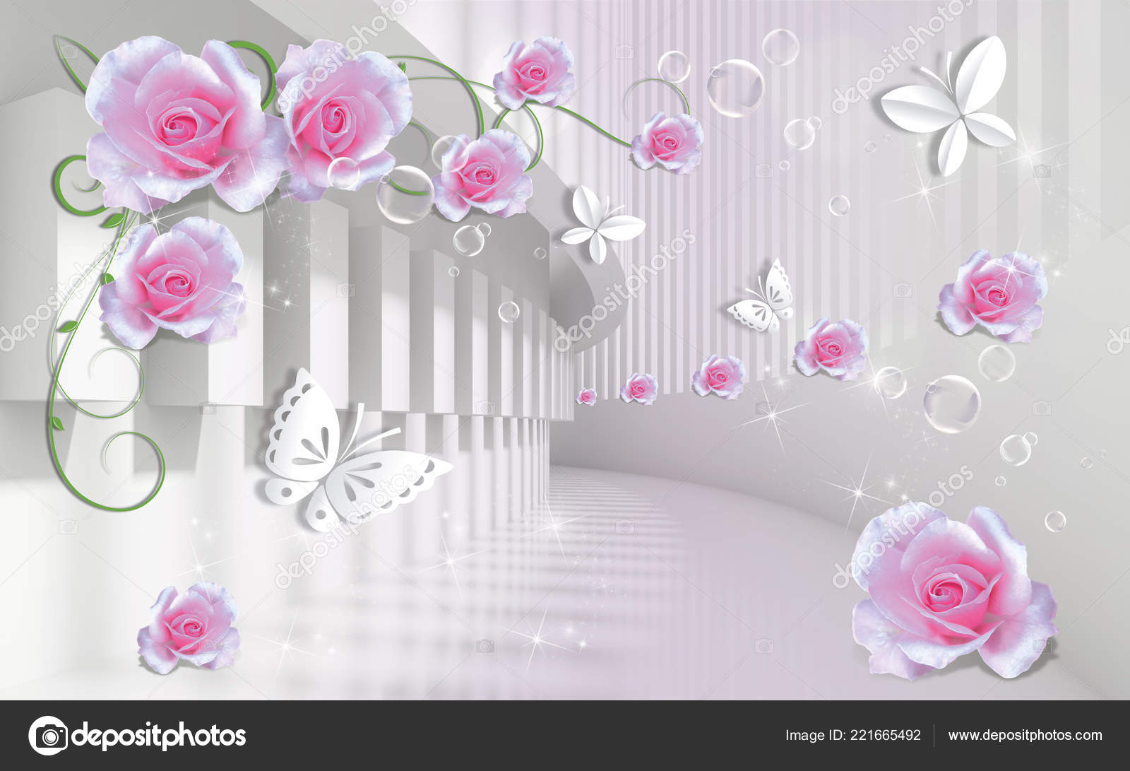 Wallpapers Of Pink Roses Background Pink Roses Paper