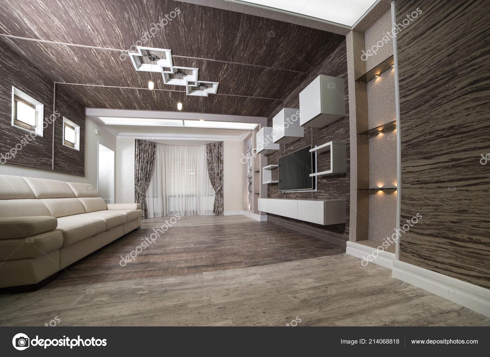Design moderno della sala riposo con apparecchi illuminazione