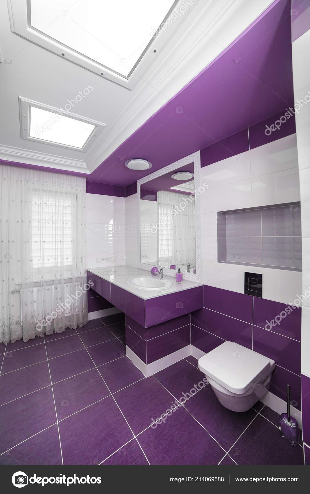 Decoration Salle Bains Moderne Avec Panneau Mosaique