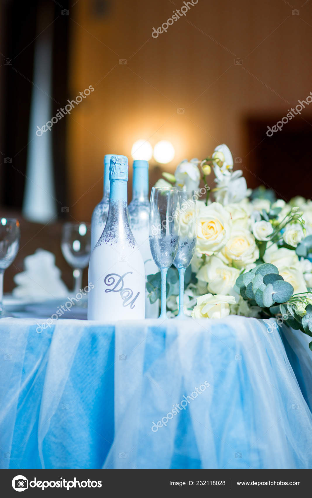 Groovy Diy Wedding Decor Table Centerpieces Wine Bottles Wrapped Interior Design Ideas Apansoteloinfo