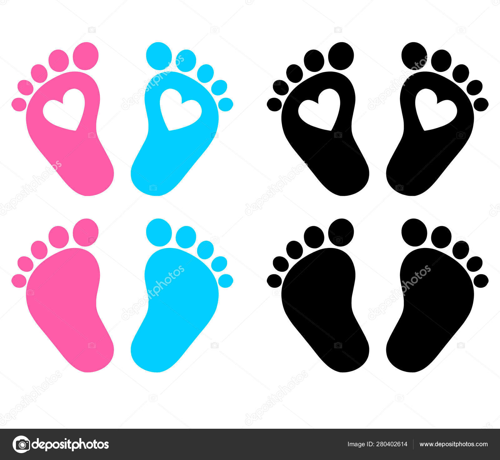 baby feet footprint hearts vector illustration stock vector c gleb261194 gmail com 280402614 baby feet footprint hearts vector illustration stock vector c gleb261194 gmail com 280402614