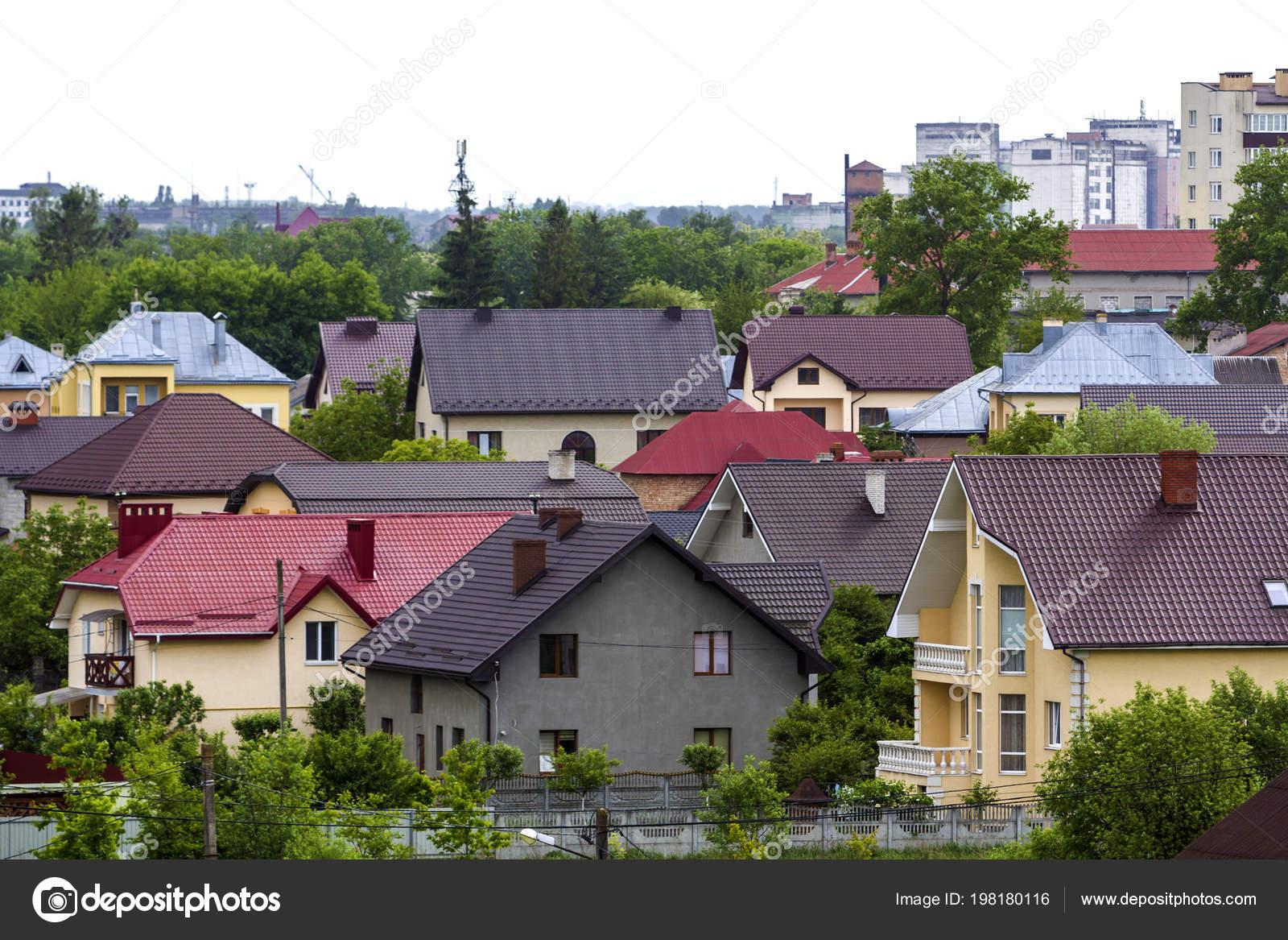 Panorama Verano Hermosa Vista Moderna Zona Residencial