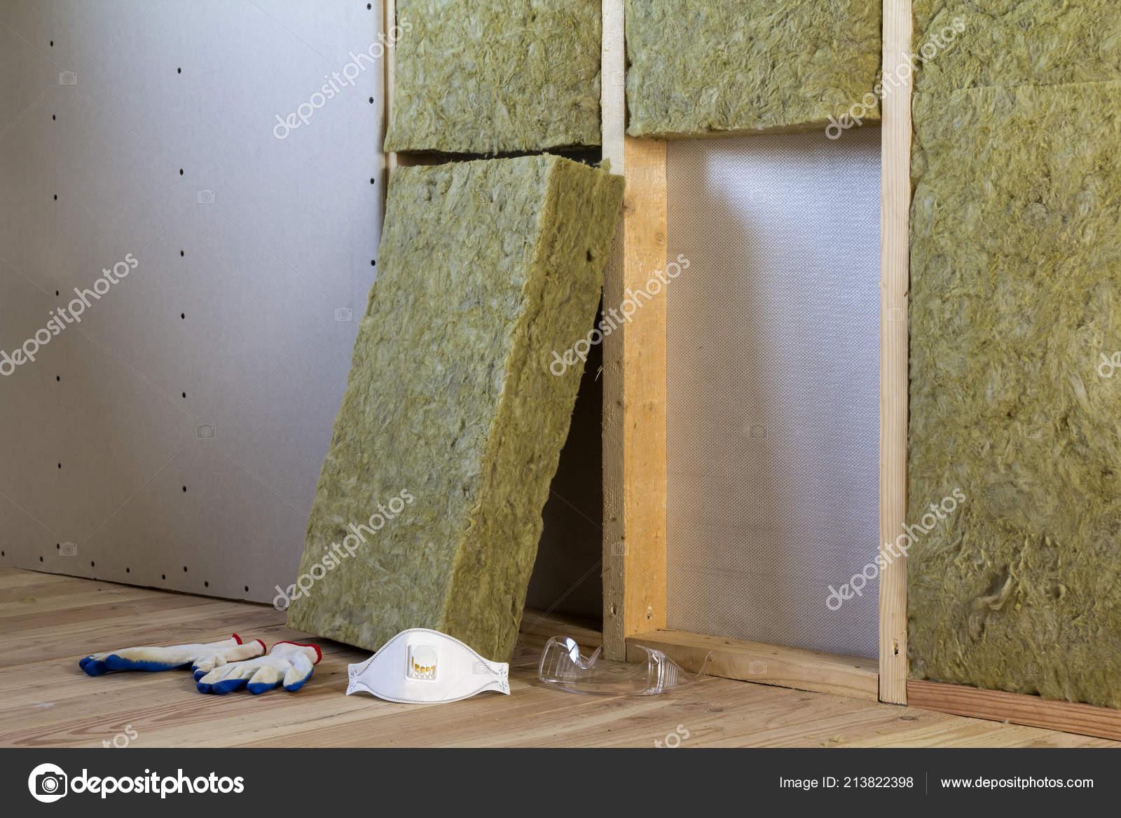 Rock Wool Fiberglass Insulation Staff Material Cold Barrier