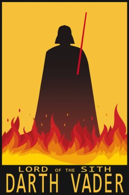 Illustration Star Wars Vector - Stock Image