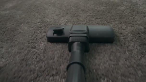 Standpunkt Aufnahme von Staubsauger Staubsauger Teppich
