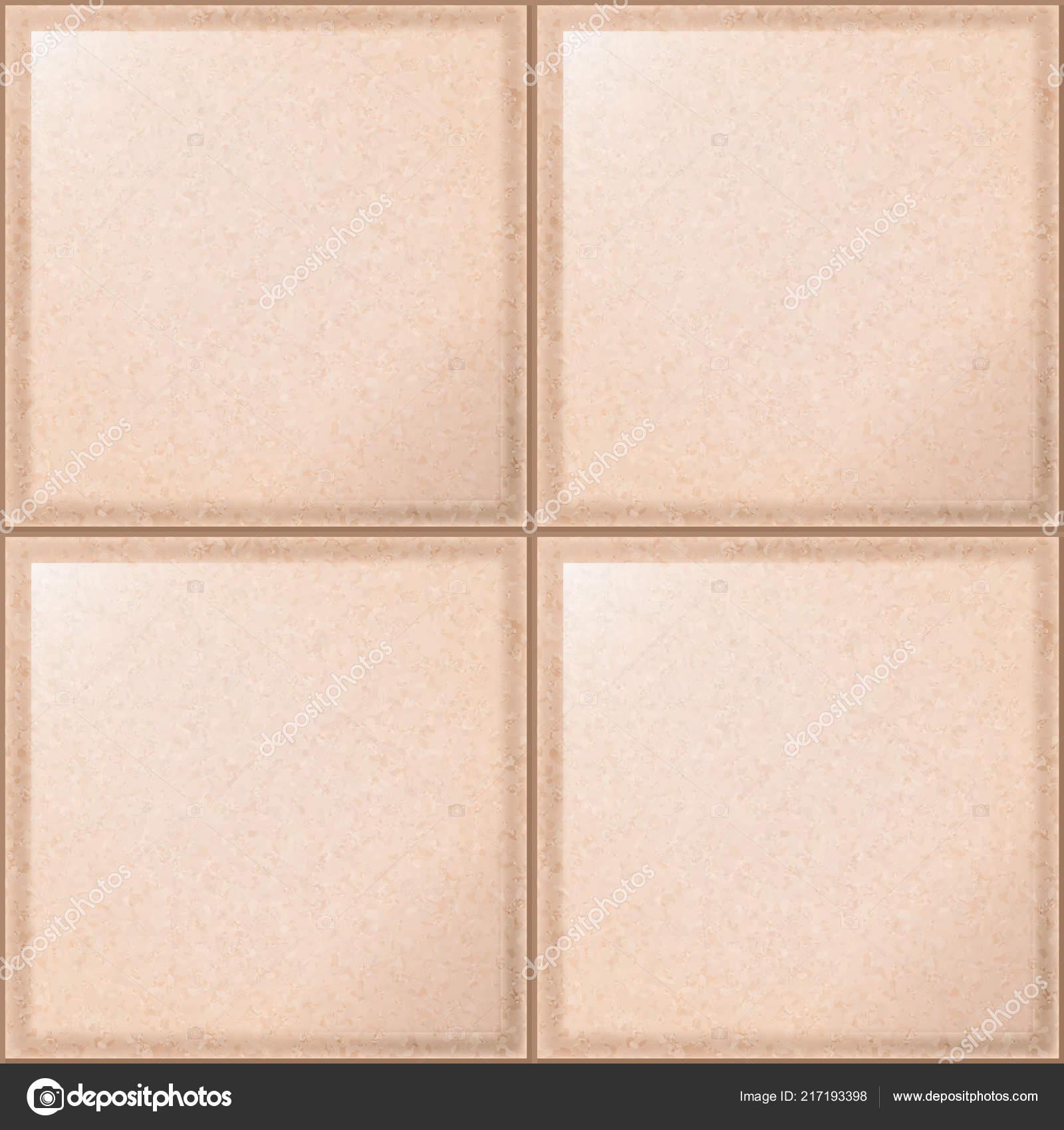 Beige Tiles Seamless Texture Vintage Ceramic Kitchen Bathroom Beige