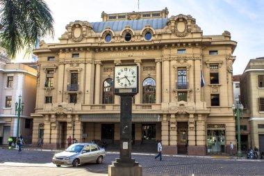 Ribeirao Preto, Sao Paulo, Brazil, March 03,2013. Theatro Pedro II. Opera house of Brazil. Architecture in Ribeirao Preto City