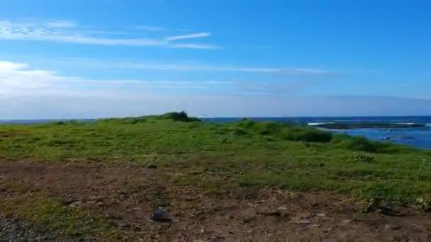 Amazing flight over Kilkee Beach at the Irish west coast