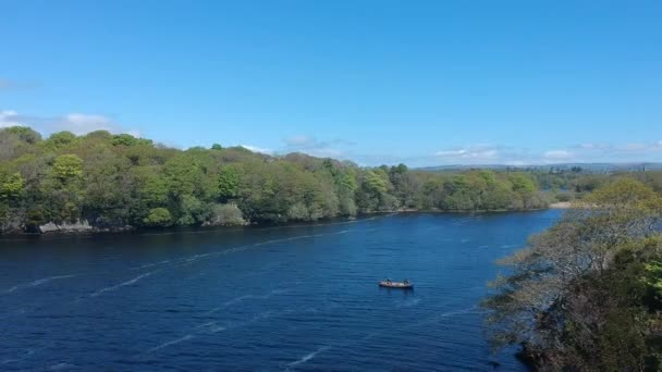 Amazing aerial flight footage of Killarney National Park in Ireland