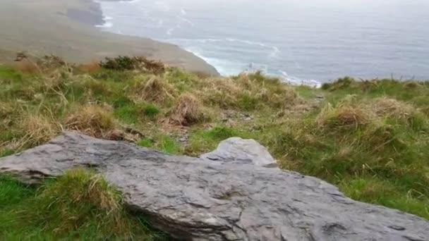 Fogher útesy u Atlantského oceánu na západním pobřeží Irska