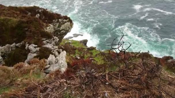 A Fogher Cliffs at ír nyugati partja mentén az Atlanti-óceán