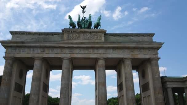 Berühmtes Wahrzeichen Berlins - das Brandenburger Tor