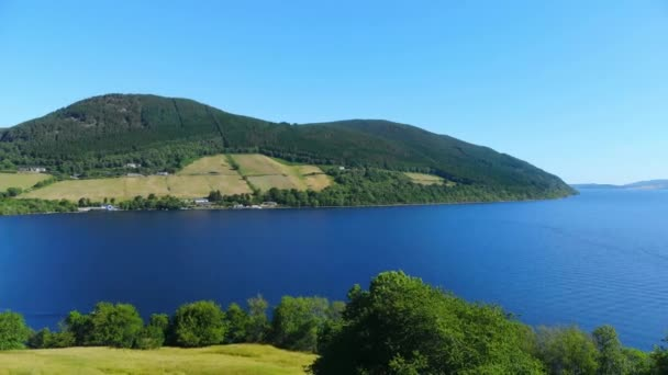 Flight over Loch Ness - the most famous lake in Scotland