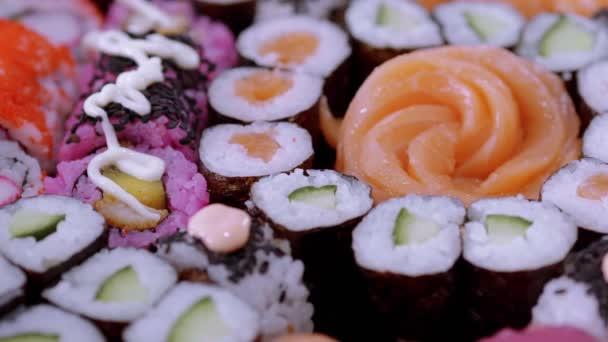 Výběr Sushi a japonské potraviny