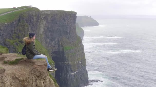 The famous Cliffs of Moher - breathtaking scenery
