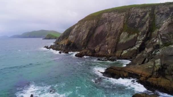 Krásný západního pobřeží Irska v Atlantském oceánu