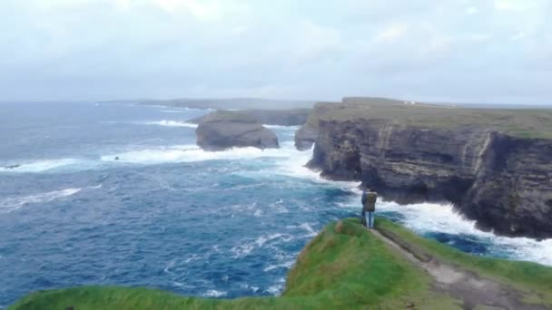 Nádherné útesy na západě pobřežím Irska