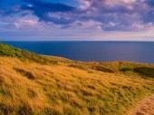 Coast path Durdle ajtó Angliában