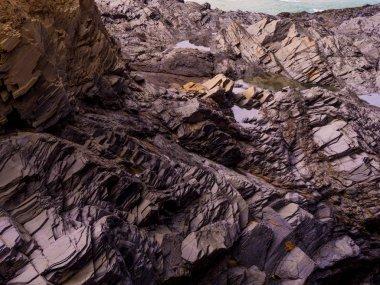 Bedruthan Steps - wonderful rocky coastline in Cornwall
