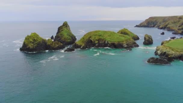 Amazing landscape of Cornwall - the Cornish Coast at the Celtic Sea