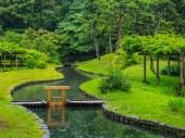 Japonská zahrada v Tokiu Korakuen