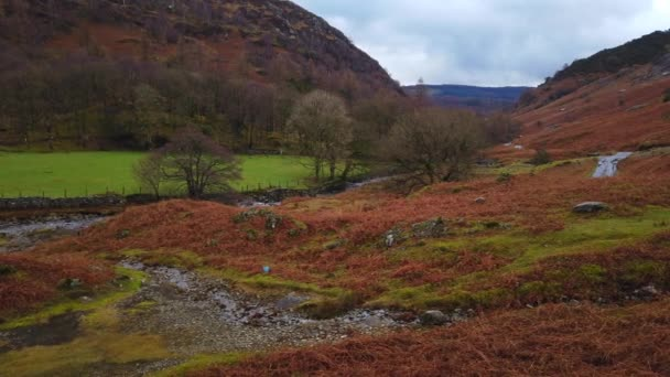 Lake District National Park in England amazing scenery