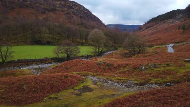 Amazing landscape in the mountains of Lake District National Park England