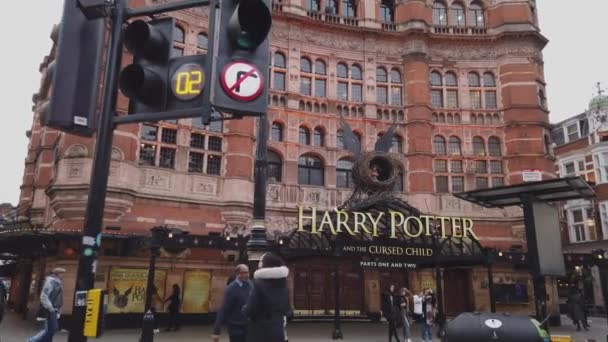 Harry Potter Musical in London at Palace Theatre - LONDON, ENGLAND - DECEMBER 16, 2018