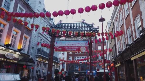 Chinatown district in London - LONDON, ENGLAND - DECEMBER 16, 2018