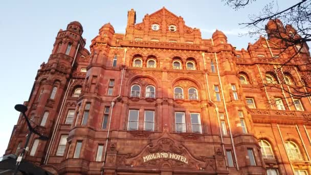 Midland Hotel in Manchester - MANCHESTER, UNITED KINGDOM - JANUARY 1, 2019