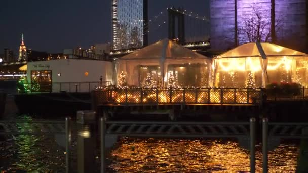 Famous River Cafe at Brooklyn Bridge