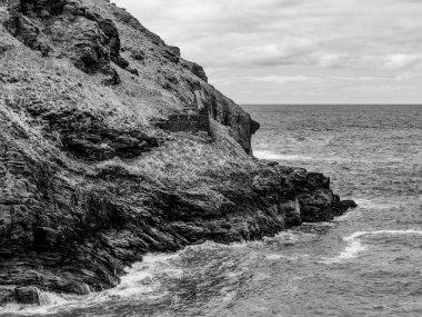 """Картина, постер, плакат, фотообои """"корнуолл англия - вид на удивительный ландшафт на побережье - фотографии путешествий постеры картины фото"""", артикул 246317330"""