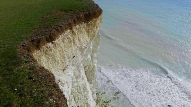 Bílé útesy sedm sester na jižním pobřeží Anglie - cestovní fotografie