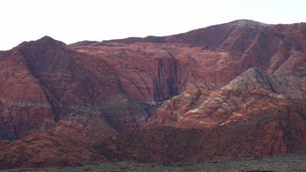 Red mountains at Snow Canyon in Utah