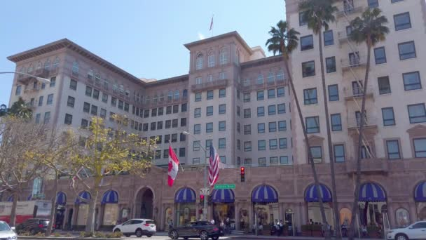 Beverly Wilshire Hotel in Beverly Hills - LOS ANGELES, USA - APRIL 1, 2019