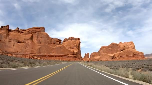 POV Drive at Arches National Park in Utah