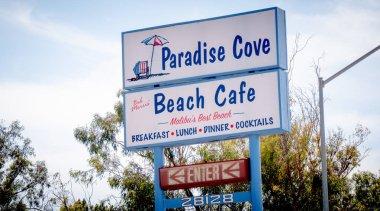 Paradise Cove Cafe in Malibu - MALIBU, USA - MARCH 29, 2019