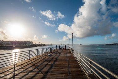 Coronado Pier in San Diego - CALIFORNIA, USA - MARCH 18, 2019