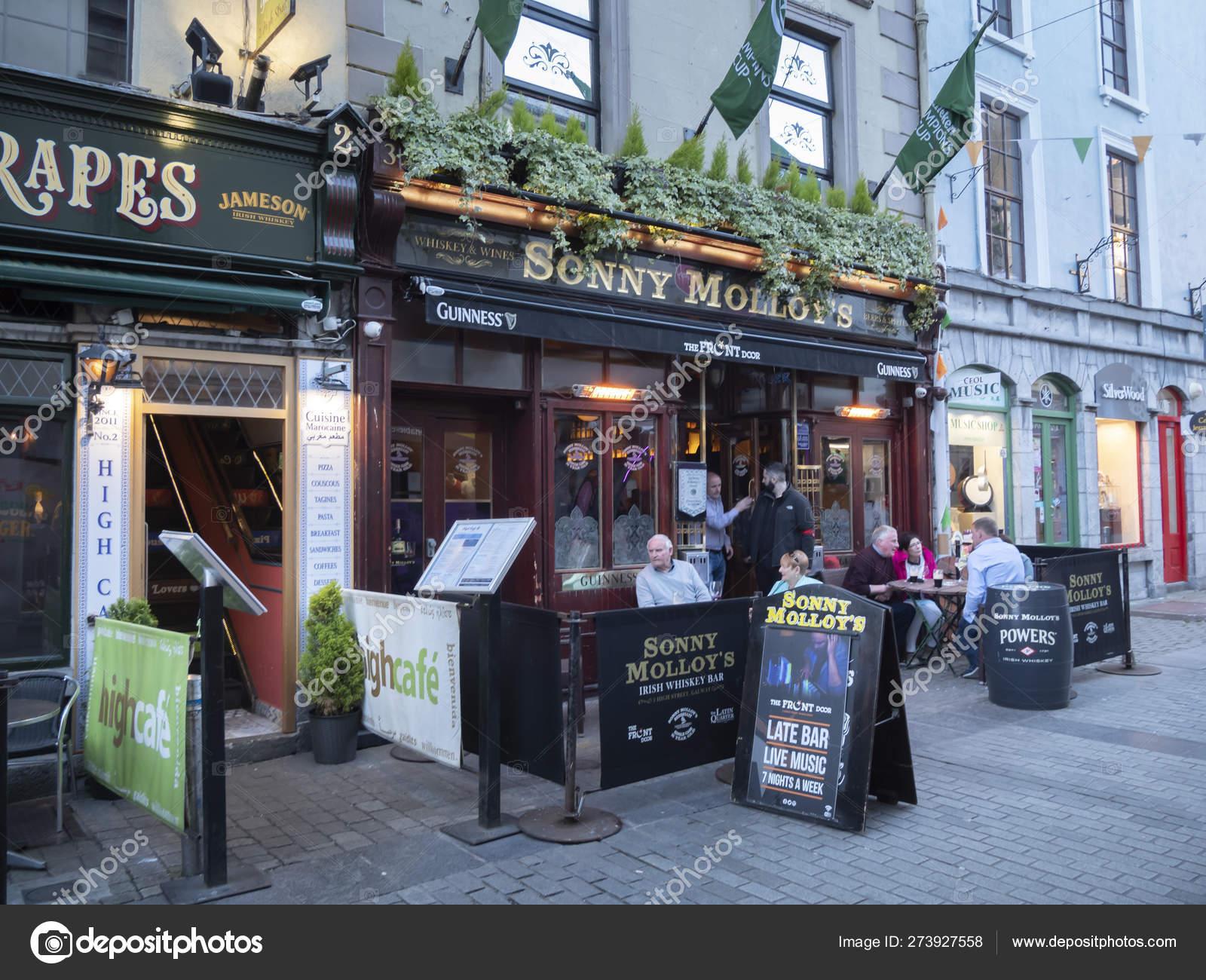 Pubs Restaurants Galway Ireland Galway Claddagh Ireland May